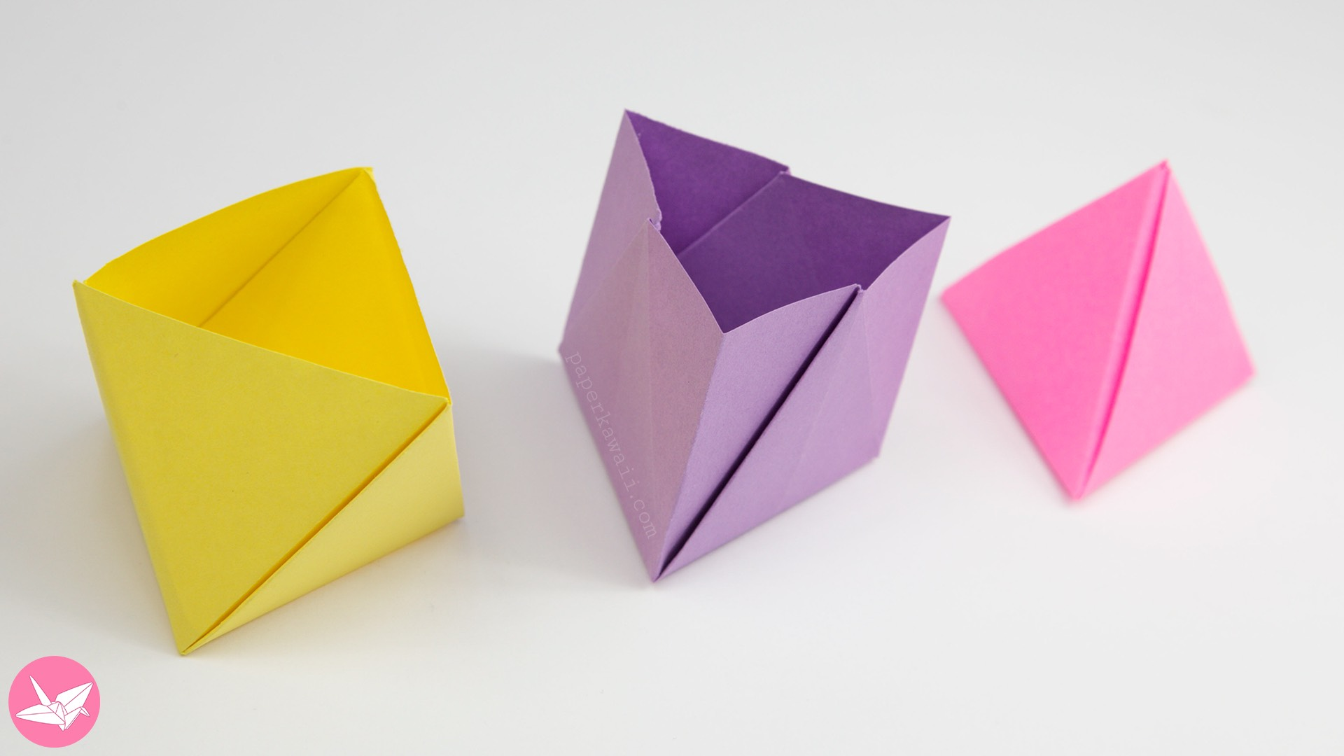 Tutorial 10 Collapsible Paper Tower Helix Decagon - YouTube ... | 1080x1920