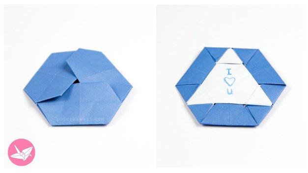 Origami Triangle Hexagon Coaster / Tato Tutorial