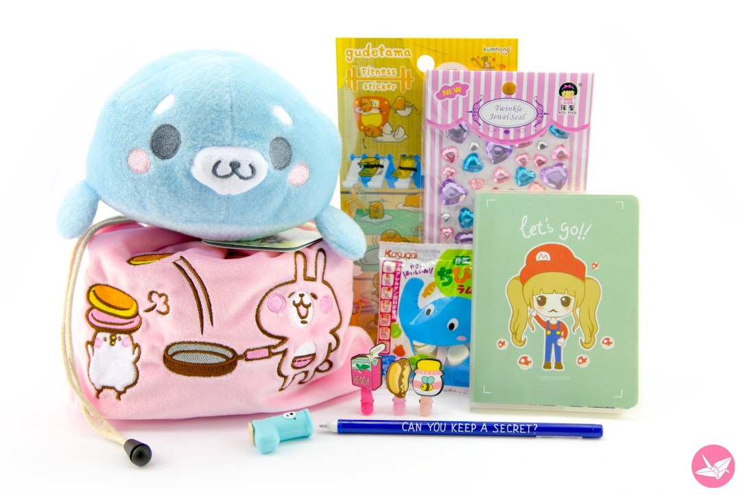 [ENDED] Kawaii Box Giveaway - Cute Japanese Items Unboxing! via @paper_kawaii