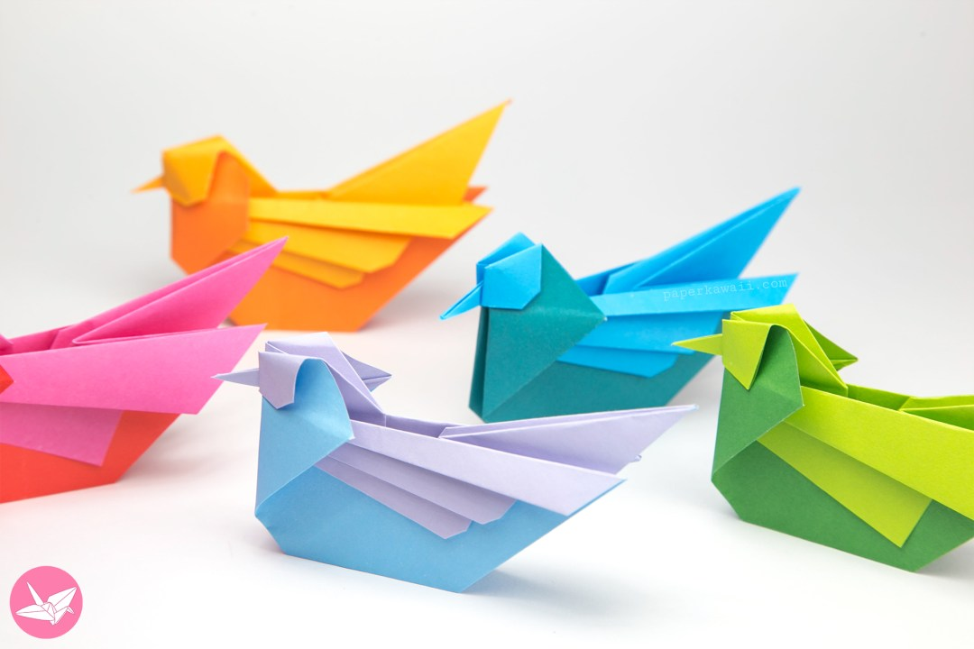Origami Birds - Page 1 of 5 | Gilad's Origami Page | 720x1080