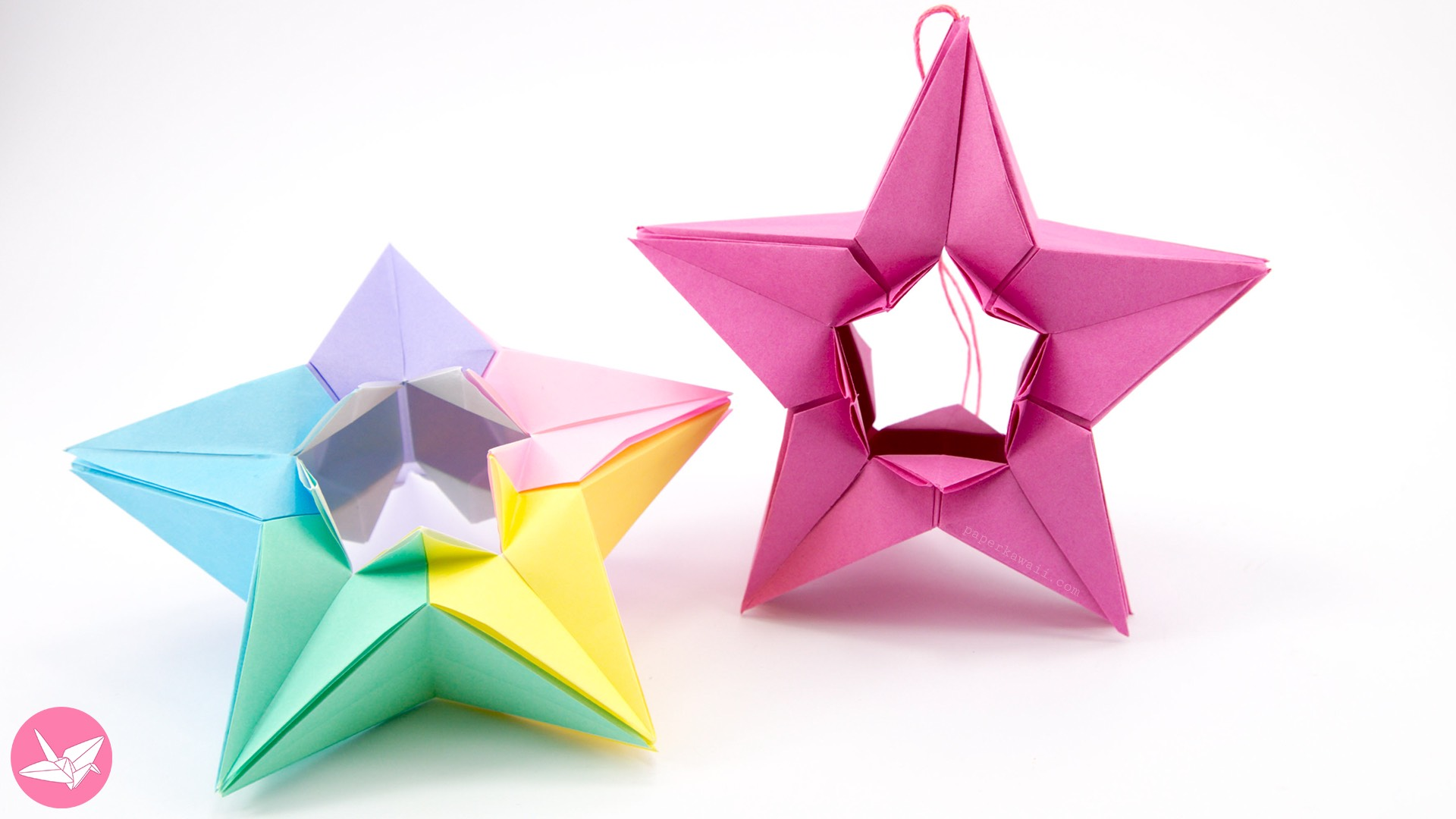 star flower origami diagram wiring of motorcycle alarm modular tutorial salman ebrahimi paper kawaii