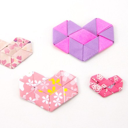 Origami Dual Hexagram Stars Tutorial via @paper_kawaii
