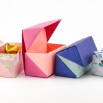 Origami Hinged Box Tutorial – Medium Size