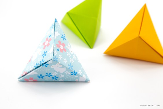 Origami Tripyramid Gift Box Tutorial (David Donahue)