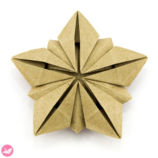 Origami Star Bowl Tutorial (Masoud Hosseini) via @paper_kawaii