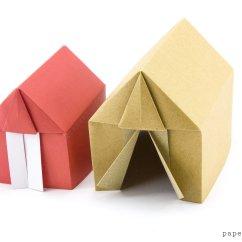 Cool Modular Origami Diagram Apollo Space Suit Tent Or House Tutorial Paper Kawaii Via
