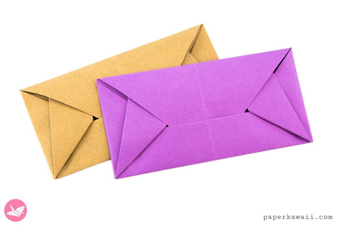 Easy Origami Envelope Letterfold By Simon Andersen via @paper_kawaii