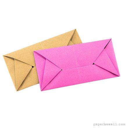 Easy Origami Envelope Letterfold - Simon Andersen via @paper_kawaii