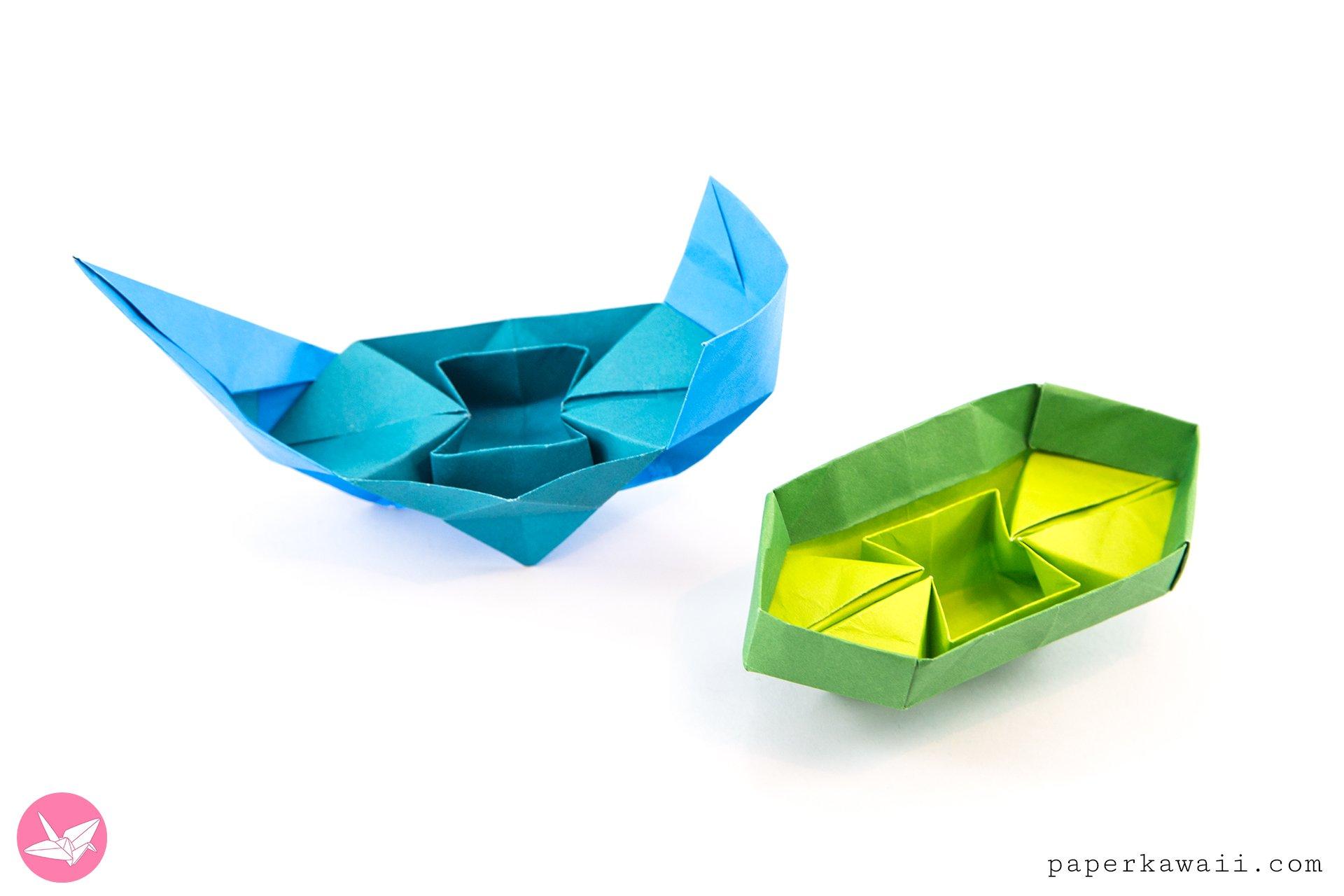 origami #boat #tutorial #stepbystep | Paper boat instructions ... | 1280x1920