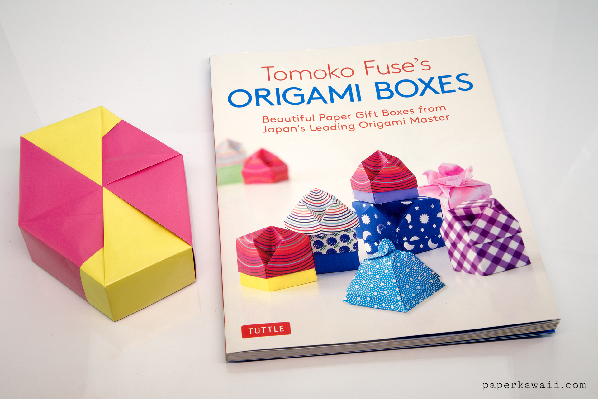 hight resolution of origami boxes by tomoko fuse