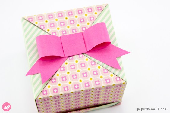 Easy Paper Bow Tutorial