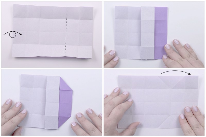 Japanese Envelope Box via @paper_kawaii