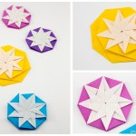 Origami Compass Star Tato Variation Tutorial