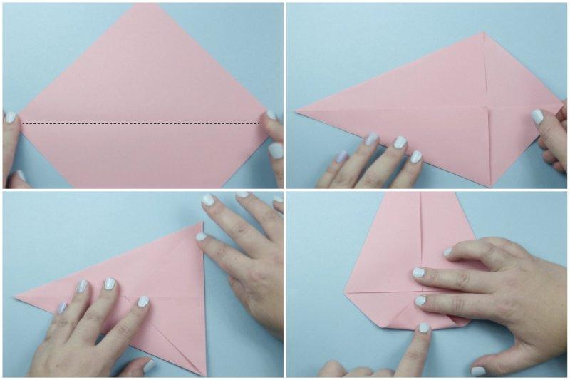 Cake Slice Box via @paper_kawaii