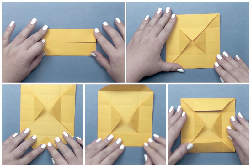 Envelope Box via @paper_kawaii