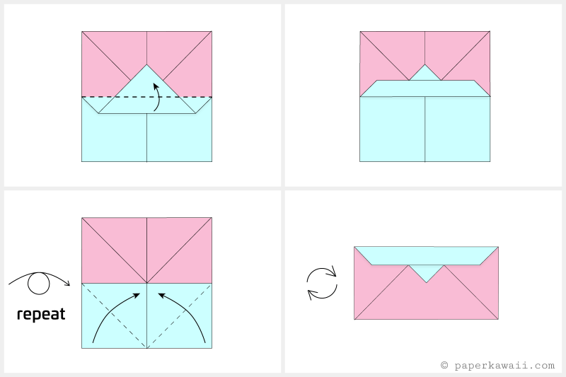 How to Make an Easy Origami Envelope | 533x800