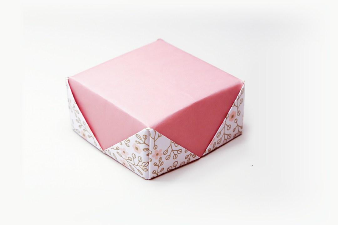 Masu Box Gem Lid via @paper_kawaii