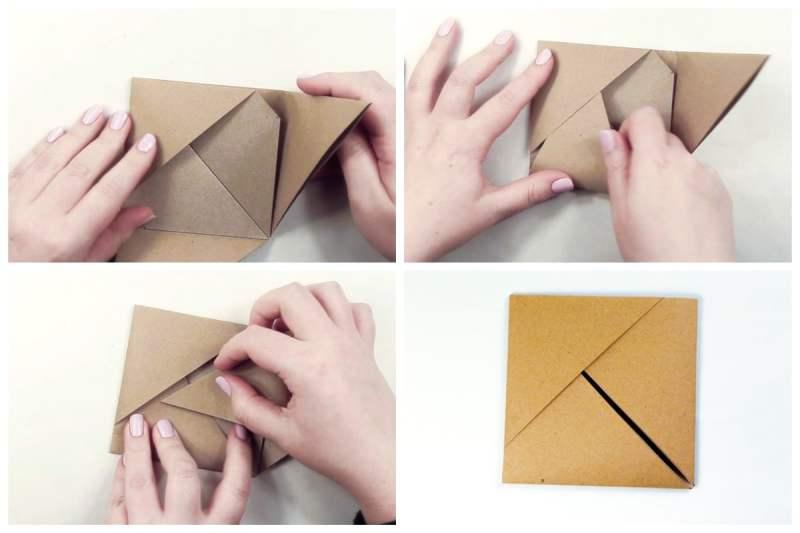 Paper Pocket via @paper_kawaii