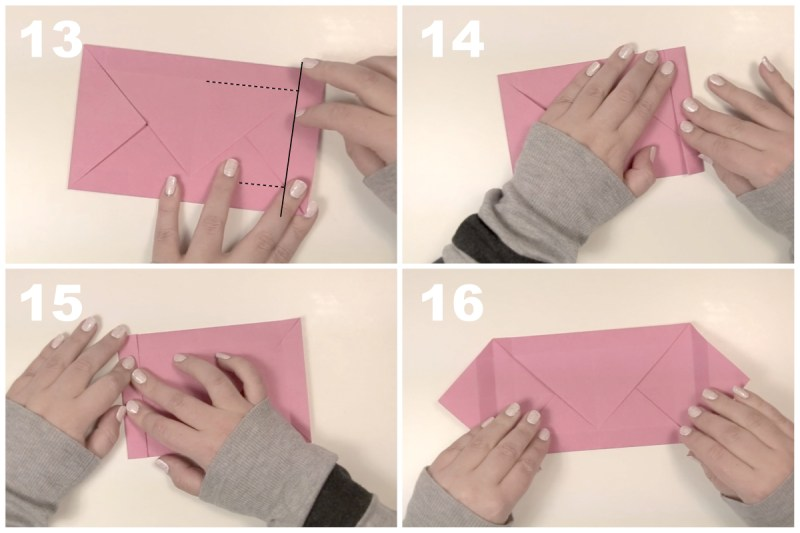 Rectangular Box via @paper_kawaii