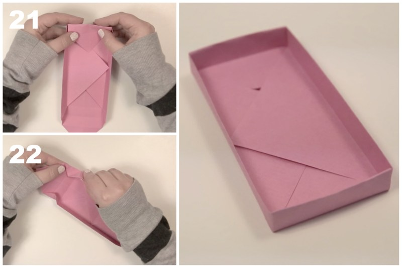 Rectangular Box via @paper_kawaii