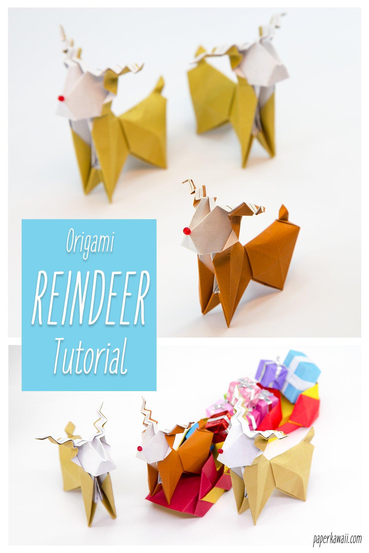 origami reindeer tutorial paper kawaii 12?resize\=988%2C1482\&ssl\=1 origami reindeer diagram wiring diagram master blogs \u2022