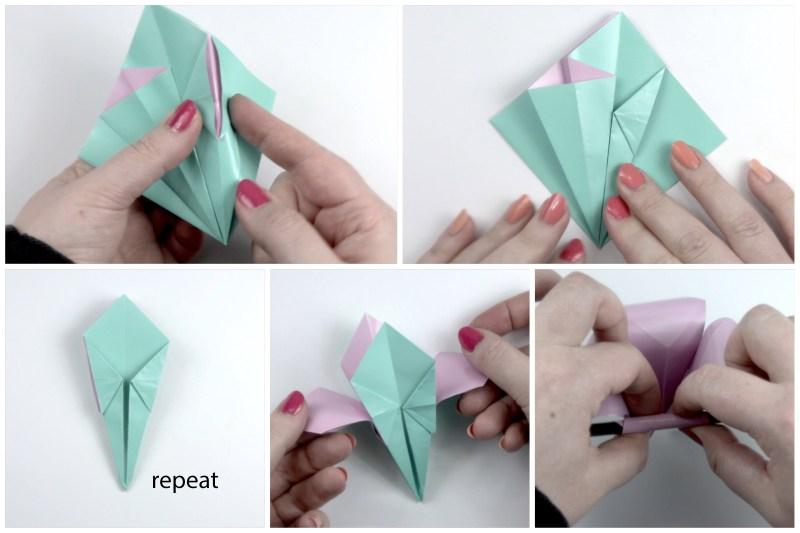 Simple Flower via @paper_kawaii