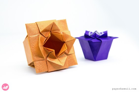 Origami Verdi's Vase Tutorial