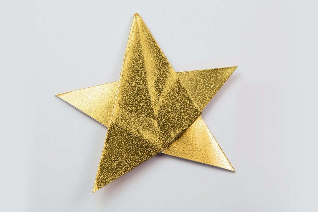 5 Point Star via @paper_kawaii
