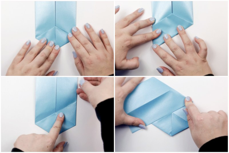 Hexagonal Letterfold via @paper_kawaii