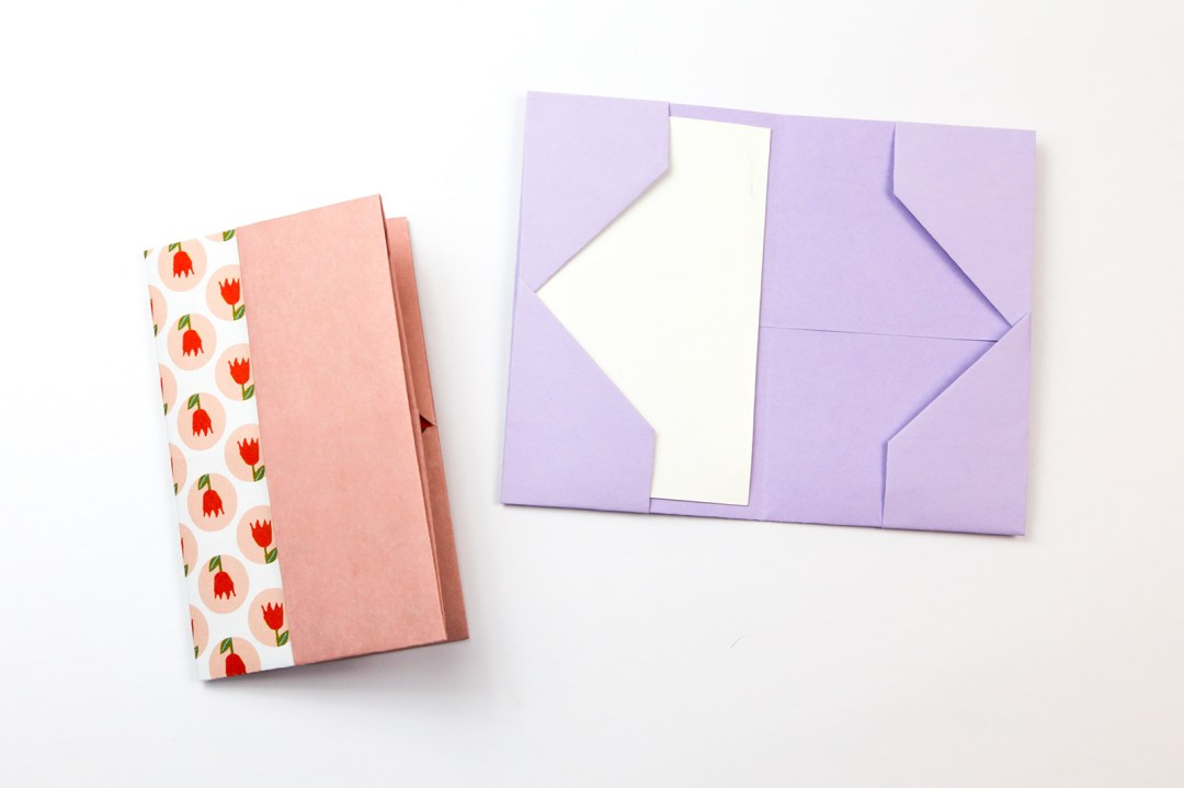 Wallet - Tall via @paper_kawaii