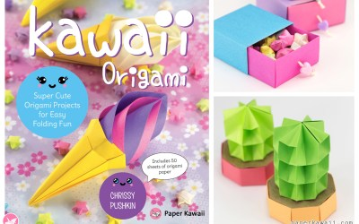 Origami Paper Size Calculator - Make Origami Models a Specific Size via @paper_kawaii