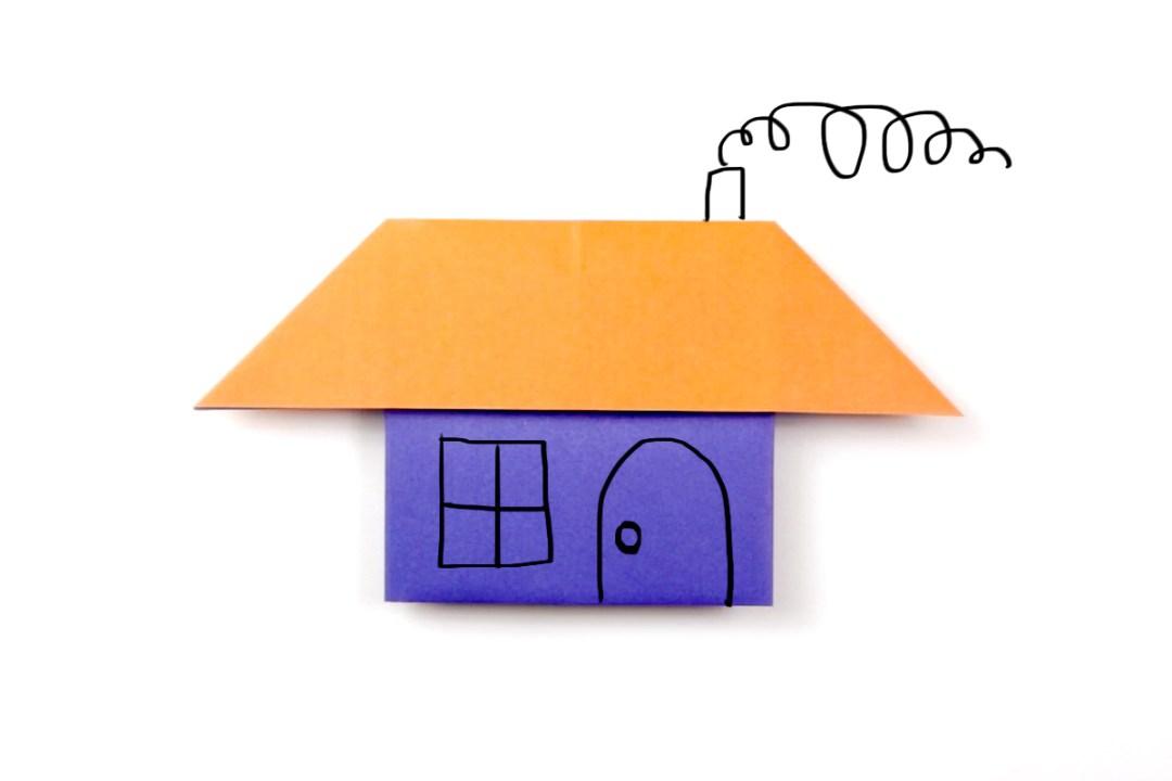 House via @paper_kawaii