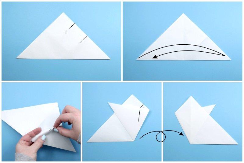 Kirigami Snowflake via @paper_kawaii