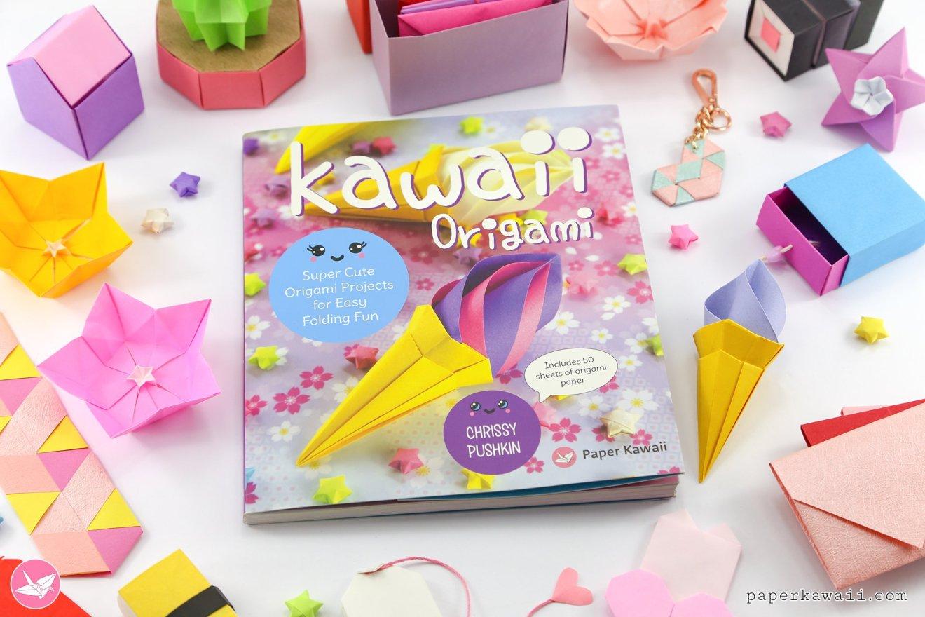 Kawaii Origami - Super Cute Origami Projects for Easy Folding Fun via @paper_kawaii