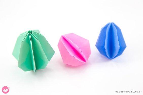 Origami Egg Tutorial for Easter