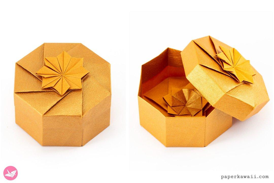Octagonal Origami Box Tutorial