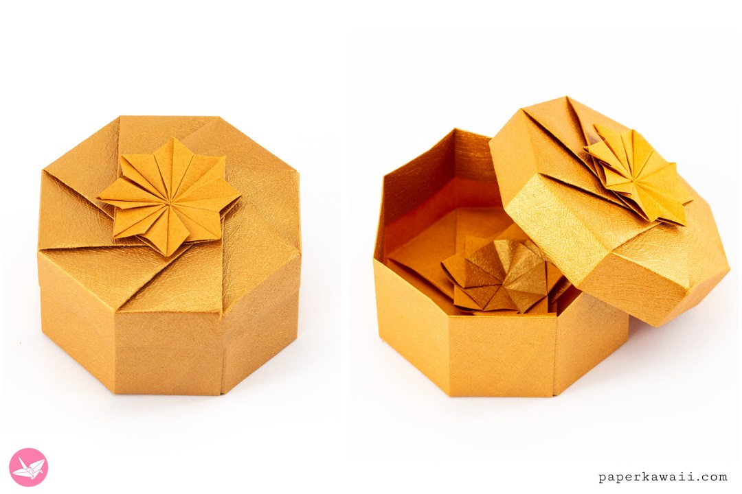 Octagonal Origami Box Tutorial