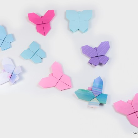 Origami Butterfly Tutorial - 3 Variations via @paper_kawaii