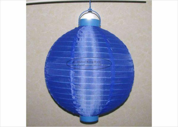 Cm Led Paper Lanterns Battery Operated Silk Nylon