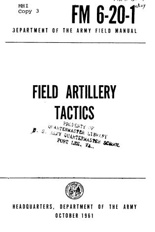 Military Field Manuals 1954-1962