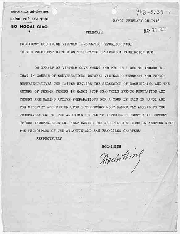 Vietnam War Historical Documents