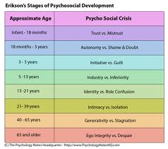 Erik Erikson Stages Psychosocial Development Stages Research Papers