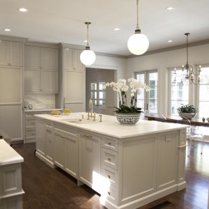 Painting Crown Molding To Match Cabinets An Example In