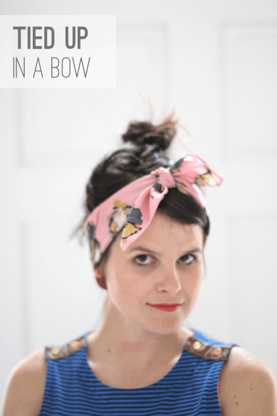 6 Ways to Style a Silk Scarf
