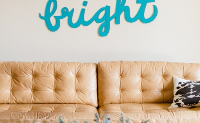 Make This Merry Bright Holiday Wall Art Diy Paper And