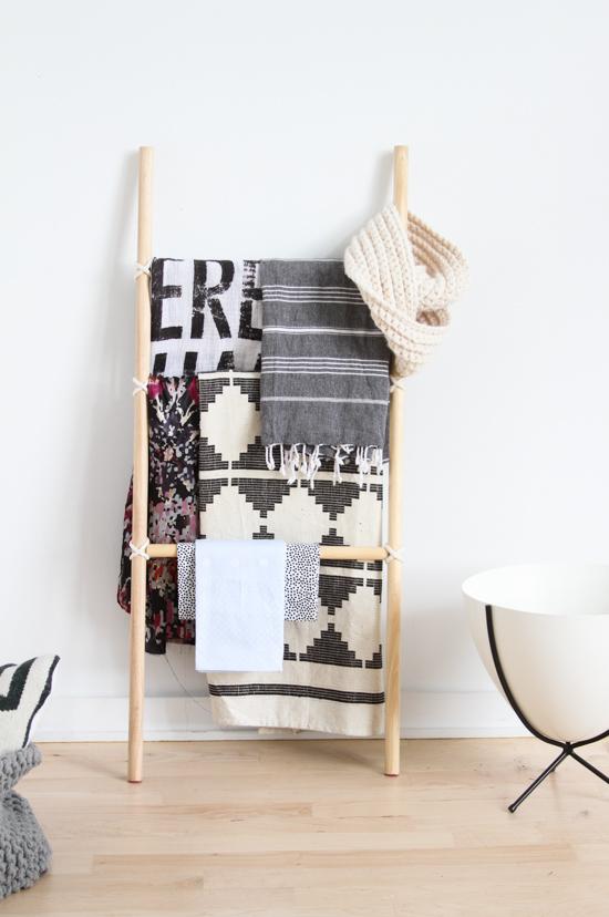 DIY | Como hacer una escalera decorativa
