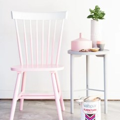 Diy Painted Windsor Chairs How To Make A Wood Chair Oh Me Over Makeover Thrift Store Find In Under An Hour Pink Ombre
