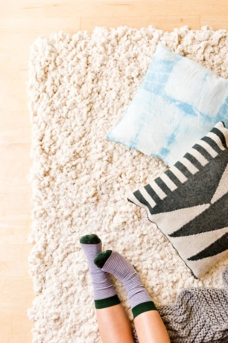 Paper & Stitch's large scale rug