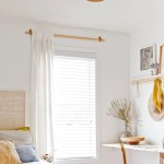 How To Make Diy Curtain Rods For Less Than 10 Paper And Stitch