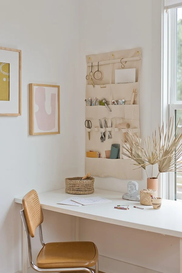 How To Make A Huge Hanging Wall Organizer That Only Costs 20